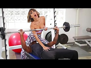 Hot milf tests her new trainer out - milf porn