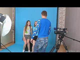 Jizzonteens com lora and jazzy seduce cameraman