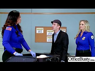 Sex Tape With Slut Busty Hot Office Nasty Girl (Alison Tyler & Julia Ann) video-04