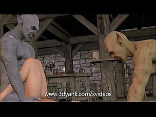 Pink haired 3d slut gets fucked by after hours visitors