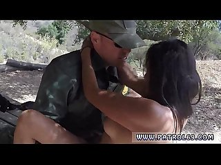 Big boobs police xxx Border Patrol agents found this Latina damsel