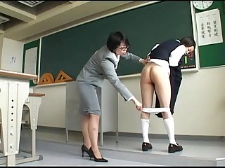 193 student can t escape from harsh teacher S spanking