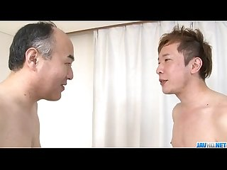 ruri hayami sexy threesome along two males