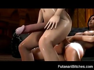 Biggest 3d Futanari cocks and cumshots
