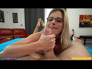 Busty blonde mom pops step son S cherry ast spoiler ast creampie
