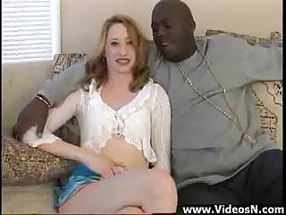 Amateur Teen Hardcore with Black Dick