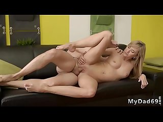 Blonde orgy hd Would you pole-dance on my dick?