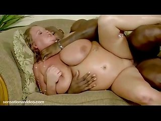 Big tit white slut sienna hills fucks big black cock