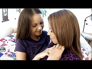 Innocent seduction lesbian scene with Dulce and malin by sapphix