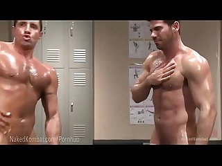 Hot muscle oil Wrestling loser be fucked