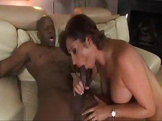 Djsexy milf fucks a black guy