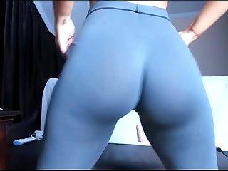 Webcam brunette girl orgasm