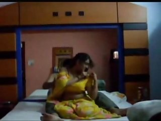 Sexy gujarati bhabhi and husband honeymoon at hotel