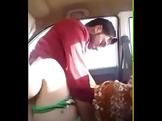 Salim fucks girl in the car mms leaked