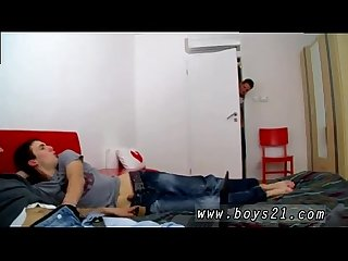 Emo boys screw tube gay Sexy Euro boys Clark, Micheal and Mark have a