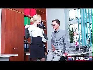 Busty milf boss fucks big geek cock Angel wicky 02 clip 09