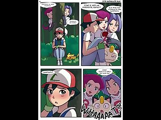 pokemon comic futanari la liga