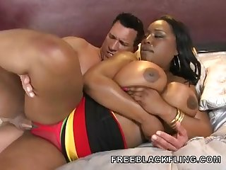 BBW Black Blowjob