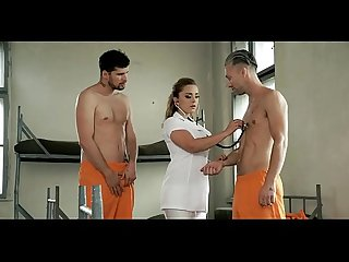 Sexy Police woman have threesome in prison ----- not be shy!! PART 2 free here..
