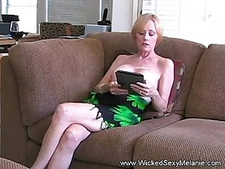 Amateur mom drains her son s balls