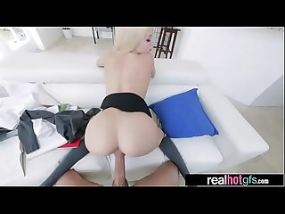Naughty Horny GF (elsa jean) In Hard Style Sex Action Scene vid-11