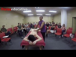 Clase 3 de masaje ertico anal