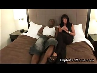 Mature Taking BBC in Amateur Video