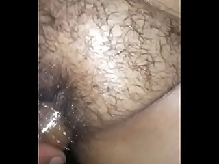 My sexy wife fucking with crystle condom