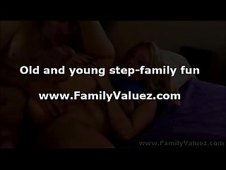 Older guy fucking hot blonde step daughter