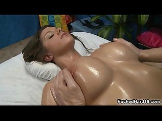 Sexy babe with big tits loves sucking