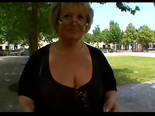 Carole French BBW granny analfucked