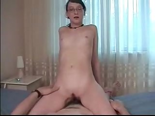 Daddy seduced and fucked young virgin daughter real
