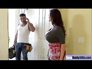 (ariella ferrera) Big Juggs Wife Love Intercorse On Cam video-05