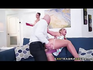 Milf phoenix marie sucks and fucks dick in new house