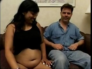 Pregnant desi wife gets pounded and cummed