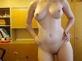 Hot nerdy girl stripping and dancing naked more on www viewcamgirls com