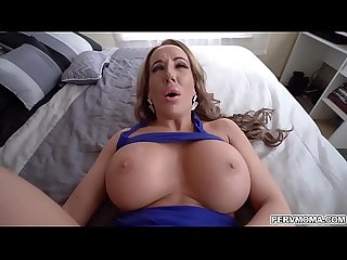 Busty MILF Richelle Ryan need some dick to make feel better.She shows off her fucking..
