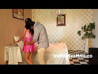 Sweet girl romantic moment scene in bed room new