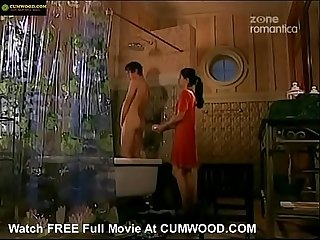 Cumwood period com Girl helps young boy in the shower