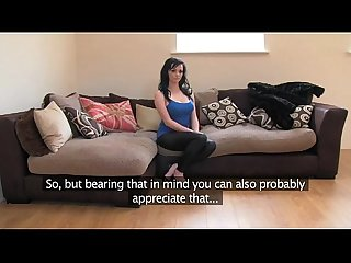 Fakeagentuk english barmaid reveals impressive tits in fake sex casting