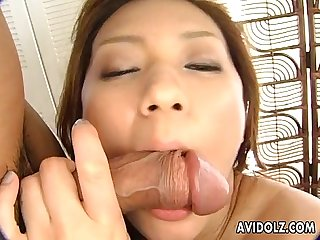 cute ryou suzuka drilled nice and hard