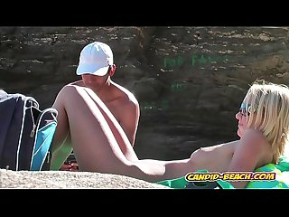 naked milfs resting naked by the seaside spycam voyeur