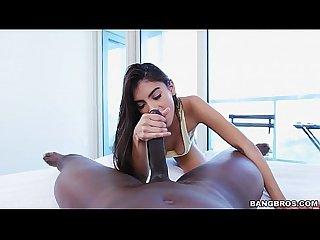 Stretching out my Michelle martinez S tight pussy