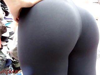 Candid booty culo bunda rabuda suplex legg spandex lycra voyeur pawg sample02