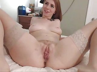 Real couple fucking pussy creampie