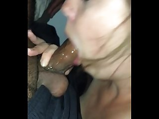 Sloppy blowjob