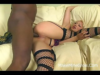 Sweet Asian Babe coco nailed by a Black cock