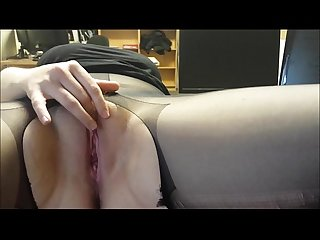 Hot mama fapping for her lover's enjoyment