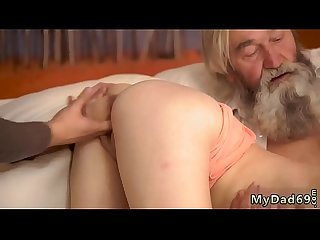 Hairy old granny Hd Unexpected practice with an older gentleman