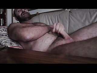 HAIRY BEAR BEARD SOLO CUM FRANCO